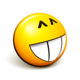 Emoticon smiley Stock Photo