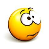 Emoticon smiley Stock Photo
