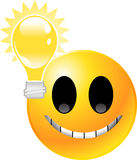 Emoticon Smiley Face Stock Photography