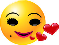 Emoticon Smiley Face Stock Images