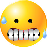 Emoticon Smiley Face Royalty Free Stock Photos