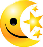 Emoticon Smiley Face Stock Image