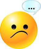 Emoticon-smiley-Gesicht Stockfotografie