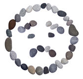Emoticon smiley stone Royalty Free Stock Image