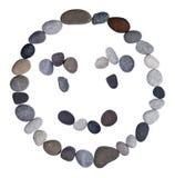 Emoticon smiley stone Royalty Free Stock Photos