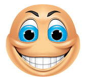 Emoticon smiling Royalty Free Stock Photo