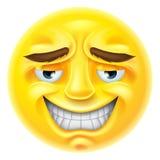 Emoticon sonriente de Emoji Imagen de archivo
