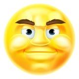 Emoticon sonriente hermoso de Emoji Imágenes de archivo libres de regalías