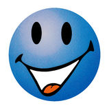 Emoticon sorridente Immagini Stock