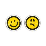 Emoticon Stickers Stock Photos