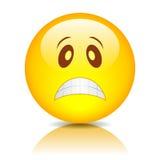 Emoticon triste Imágenes de archivo libres de regalías
