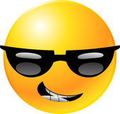 emoticon twarzy smiley Obraz Royalty Free
