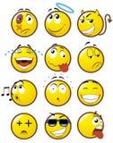 emoticons 1 stock illustrationer