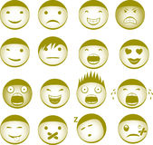 Emoticons Royalty Free Stock Photo