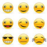 Emoticons Stockbild