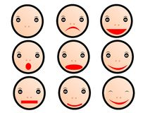 Emoticons Royalty Free Stock Images