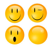Emoticons Royalty Free Stock Photography