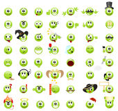 Emoticons Fotografie Stock
