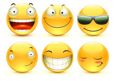 Emoticons Imagem de Stock Royalty Free