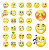 Emoticons Stockbilder