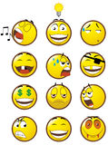 Emoticons 3 Royalty Free Stock Images