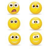 Emoticons Royaltyfria Foton