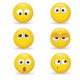 Emoticons Royaltyfri Foto