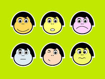 emoticons Obraz Royalty Free