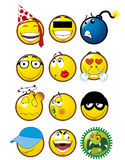 Emoticons 4 Stock Foto