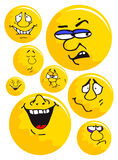 emoticons Obrazy Royalty Free
