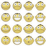 Emoticons Stock Image