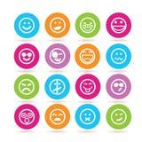 emoticons vector illustratie