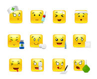 Emoticons doctor Royalty Free Stock Image