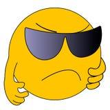 emoticons Emoji Ícones do sorriso Ilustração Fotos de Stock Royalty Free