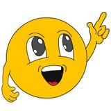 emoticons Emoji Iconos de la sonrisa Ilustración Imagen de archivo libre de regalías