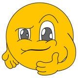 emoticons Emoji Iconos de la sonrisa Ilustración Foto de archivo