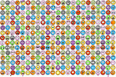 Emoticons emotion Icon Vectors Stock Photo