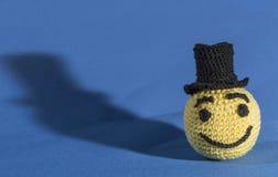 Emoticons hechos punto Fotografía de archivo libre de regalías