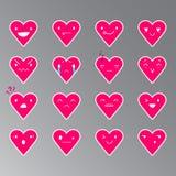 Emoticons Kierowy kolor 19 Obraz Royalty Free