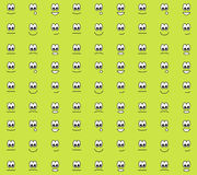 Emoticons seamless pattern Royalty Free Stock Photos