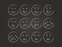 Emoticons Set Royalty Free Stock Image