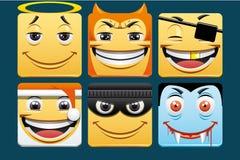 Emoticons stock illustration