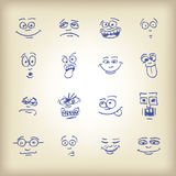 Emoticons Stock Photo