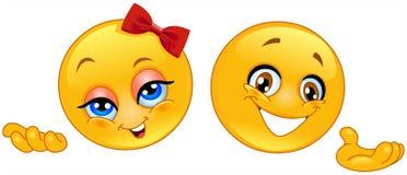 emoticonspresentatör Royaltyfria Foton