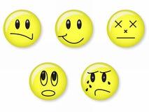 Emotie stock illustratie