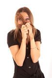 Emotie en Haar Royalty-vrije Stock Foto
