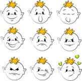 Emoties Royalty-vrije Stock Fotografie