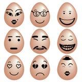 Emoties vector illustratie