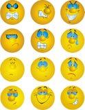 Emoties Stock Afbeelding