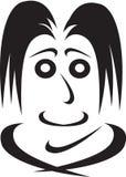 Emoties van de menselijke gezicht-vriendelijkheid Stock Afbeeldingen